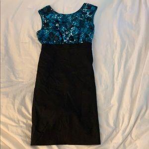 JCrew mid-length dress
